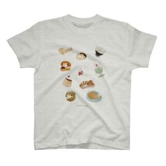 おいしいぷくしゅん T-shirts