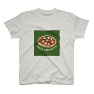 ピッツァマルゲリータ Tシャツ T-shirts