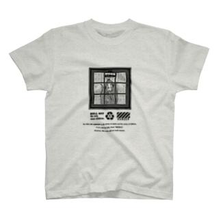 高齢者向け夏用Tシャツ【黒文字】 T-shirts