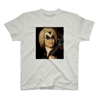 バッハ×ロック Bach T-shirts