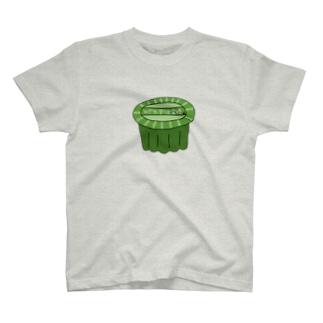 真緑のみぞれ宇治金時 T-shirts