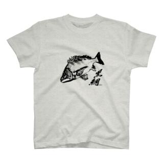 チヌTシャツ T-shirts