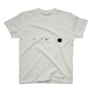 ビリヤード球 T-shirts