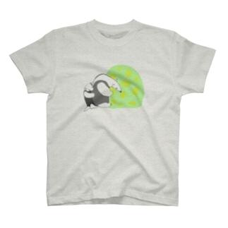 アリクイの親子 T-shirts