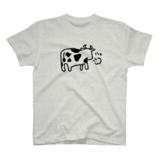 牛ろめたい T-shirts