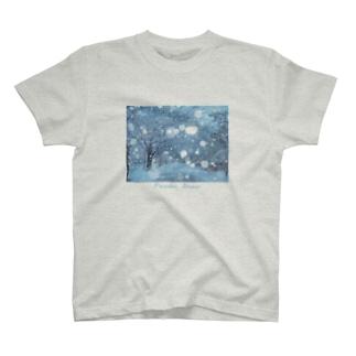 雪 T-shirts