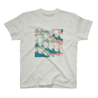バグった集合住宅 T-shirts