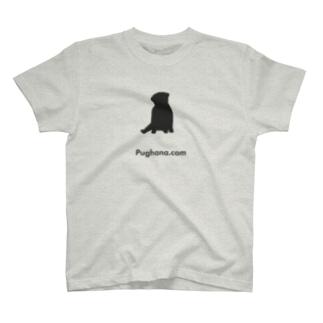 パグT(パグ座り)薄 T-shirts