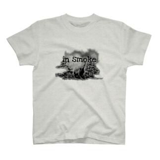 man in smoke T-Shirt