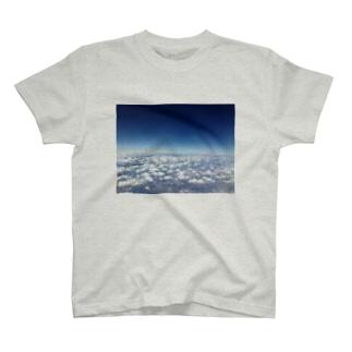空から地上を見てみよう(写真) T-shirts