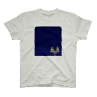 旅シリーズ 凍て空 T-shirts