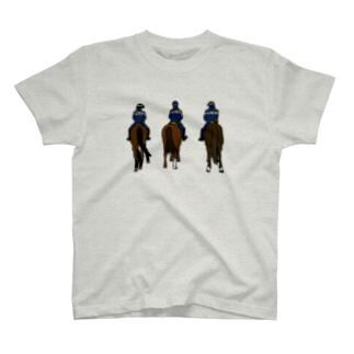 フランス・パリの騎馬隊 T-shirts