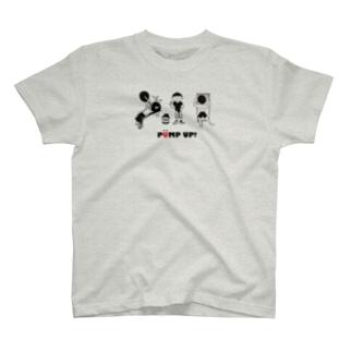 PUMP UP!  筋トレ T-shirts