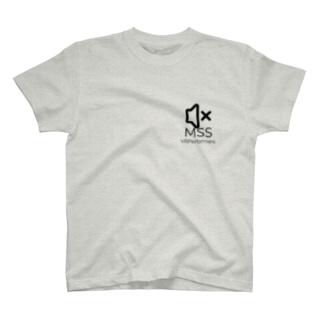 MSSアイテム(黒ロゴ) T-shirts