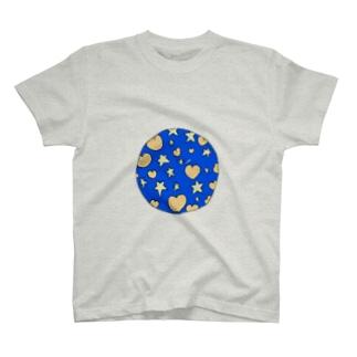 ハートに埋もれた T-shirts