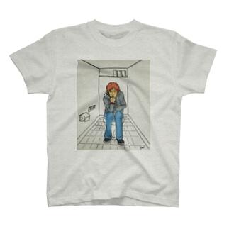 トイレで考える長江健次 T-shirts