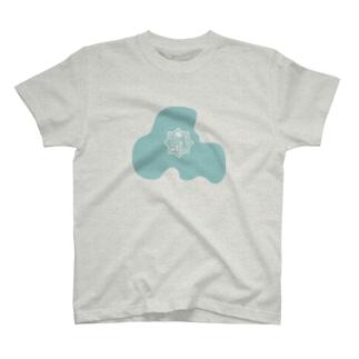 豊劇ロゴマーク(ベタ枠) T-shirts