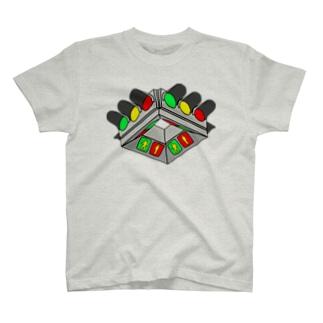 UFO型信号機 T-shirts