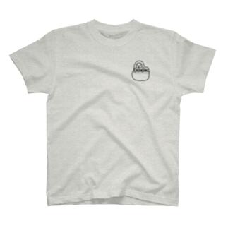 ポケピ黒 T-shirts