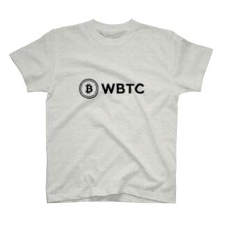 仮想通貨 WBTC T-shirts