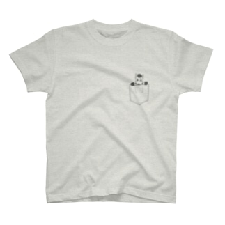 ポケット柄 ロバーロ T-shirts
