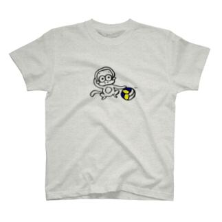 バレーボールサル T-shirts