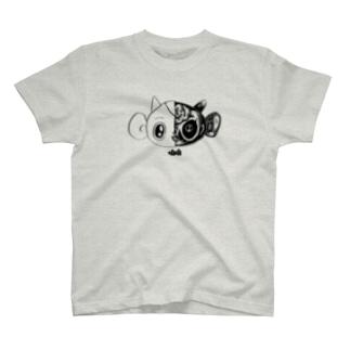 つのざる / LINE T-shirts