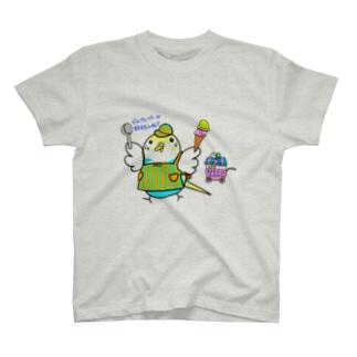 小夜ちのアイスクリーム屋さん T-shirts