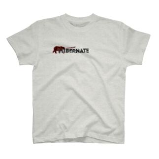 BEARGUNDYの冬眠 T-shirts