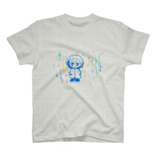 とある雨の日に。 T-shirts