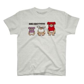 リキブラザーズ T-shirts