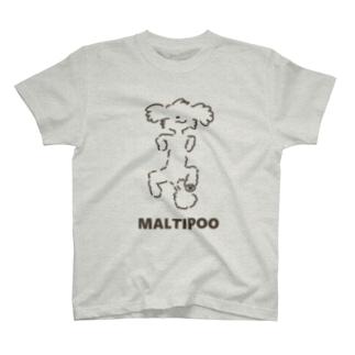 スーパーわんわんズのマルプーT T-shirts
