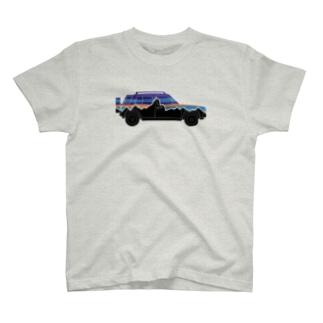 rasheeniaリアルシルエット T-shirts