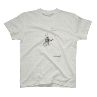 ウサギのウー[Eggs Benedict] T-shirts