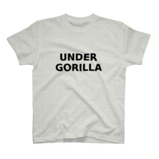 UNDER GORILLA T-shirts