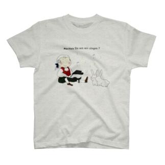 森の音楽会(文字入り) T-shirts
