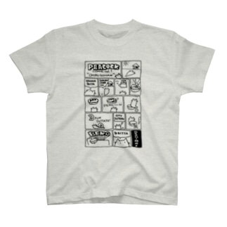 ぴーこっく漫画その1 T-shirts