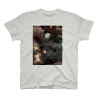 線香花火  Sparkler T-shirts
