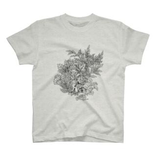 PygmyCat(黒線ver) Tシャツ