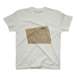white boardの遺跡 T-shirts