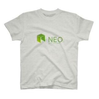 仮想通貨NEO Tシャツ T-shirts