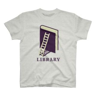 本のライブラリー T-shirts