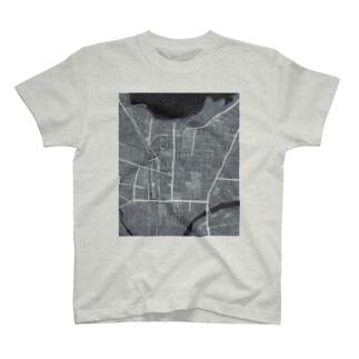 福島市街地図2 T-shirts