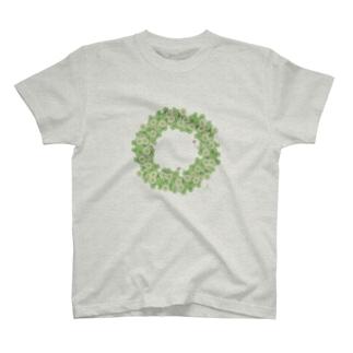 クローバー文鳥 T-shirts
