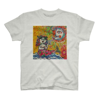 moca partyのMermaid  T-shirts