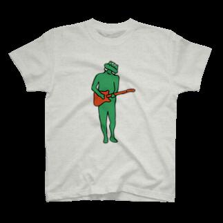 SYOKENのはらわた/ギター T-shirts