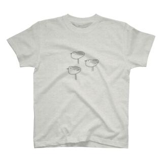 minatoriのミユビシギ T-shirts