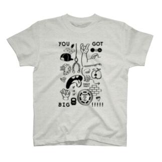 BLA BLA BLA GO WORKOUT TS004 T-shirts