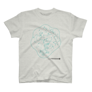 HAKO NO KIMAGUREのSEIZA DAMARI T-shirts