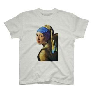 フェルメール001 T-shirts